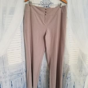 NWT Style & Co Women's Pant Wide Leg Mid Rise